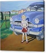 Bebe 1953 Canvas Print