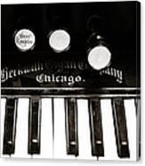 Beckwith Organ 2 Canvas Print