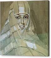 Bedouin Girl Canvas Print