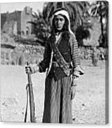 Bedouin Youth, C1926 Canvas Print