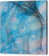 Before Bath Canvas Print