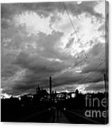 Before Rain In Prague Canvas Print