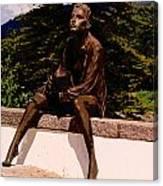 Beggar Gil In Monchique Canvas Print