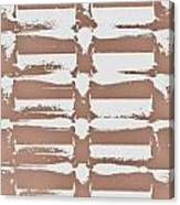 Beige Abstract Canvas Print