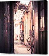 Beijing Hu Tong Alleys Canvas Print