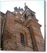 Bell Tower Of Our Lady Of Guadalupe Canvas Print