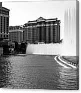 Bellagio Fountains Canvas Print