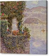 Bellagio From Tremezzo Canvas Print
