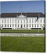 Bellevue Palace Berlin Canvas Print