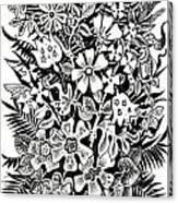 Bells And Cornflowers Canvas Print