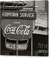 Bell's Drugs - D003280 Canvas Print