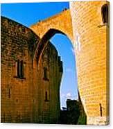 Bellver Castle Mallorca Canvas Print
