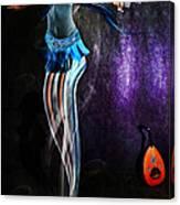Belly Dance Genie Canvas Print