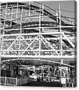 Belmont Park Coaster Canvas Print