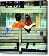 Benchlovers Canvas Print