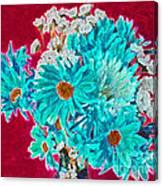 Beneath The Bouquet Canvas Print