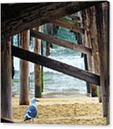 Beneath The Pier II Canvas Print
