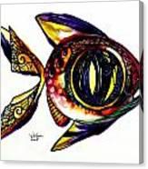 Benedict The Sixteenth Fish Canvas Print