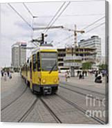 Berlin Alexanderplatz Square Canvas Print