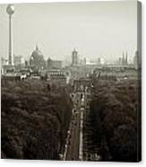 Berlin From The Victory Column Canvas Print