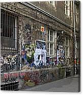 Berlin Graffiti - 1 Canvas Print