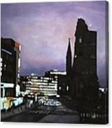 Berlin Nocturne Canvas Print