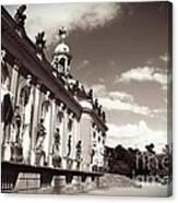 Berlin - Sanssouci Palace Canvas Print