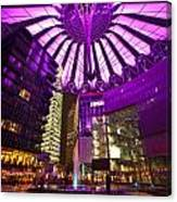Berlin Sony Center Canvas Print