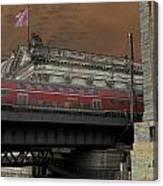 Berlin Train Canvas Print