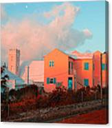 Bermuda Colors Canvas Print