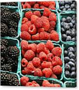 Berry Baskets Canvas Print