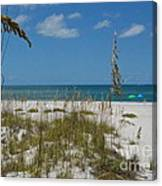 Best Beach Day Ever Canvas Print