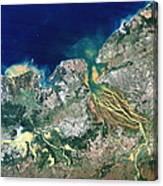 Betsiboka Estuary, Madagascar Canvas Print