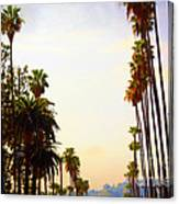 Beverly Hills In La Canvas Print