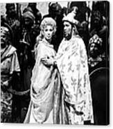 Beverly Sills, Justino Diaz Performing Canvas Print