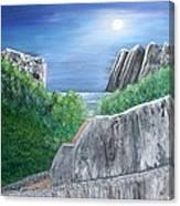 Beyond The Rock Canvas Print
