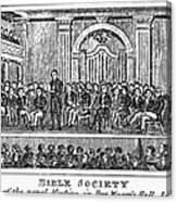 Bible Societies Canvas Print