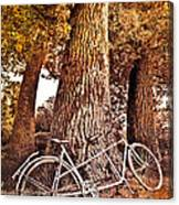 Bicycle Built For Two Canvas Print