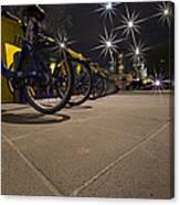 Bicycle Lane Canvas Print