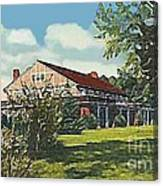 Bienvenue Country Club In Rocky Mount N C Canvas Print