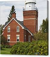 Big Bay Point Lighthouse 4 Canvas Print