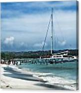 Big Beautiful Boat Canvas Print