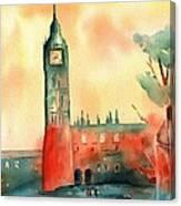 Big Ben    Elizabeth Tower Canvas Print
