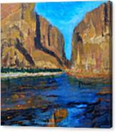 Big Bend Canvas Print