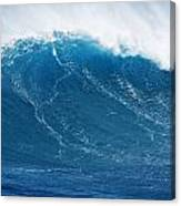Big Blue Wave Canvas Print