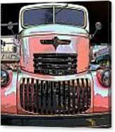 Big Chevy Rig Canvas Print