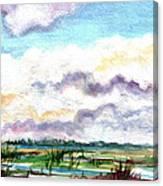 Big Clouds Canvas Print