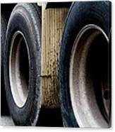 Big Fat Tires Canvas Print