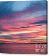 Big Florida Sunset Canvas Print