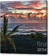 Big Island Sunrise Canvas Print
